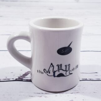 Bad Dog Coffee Mug - Sit